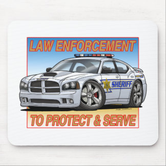Charger_Sheriff_ Mouse Pad