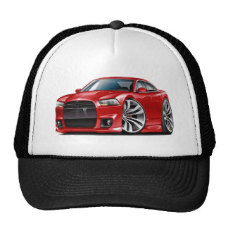 Charger SRT8 Red Car Trucker Hat