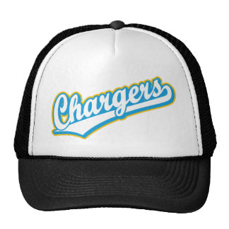 Chargers in Powder Blue and Yellow Trucker Hat