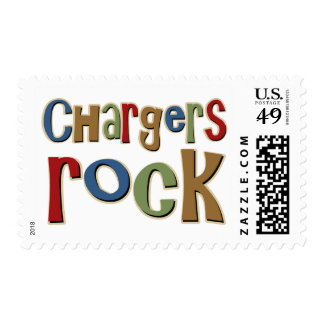 Chargers Rock Postage