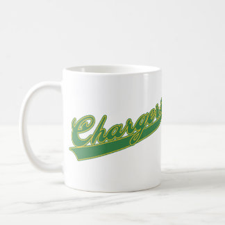 Chargers Script Mug