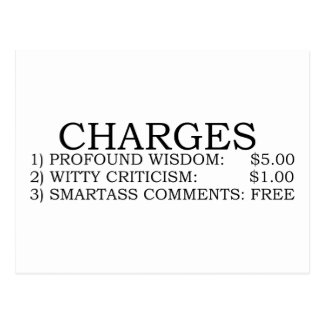 Charges Postcards