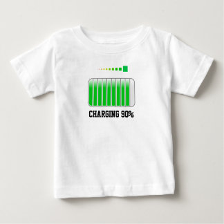 Charging 90 Persent Baby T-Shirt