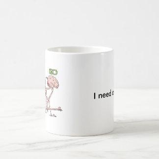 Charging Brain Coffee Mug