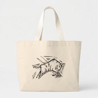 Charging Bull Tote Bags