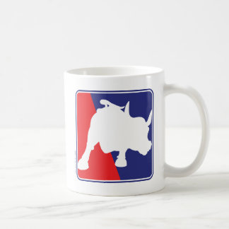 charging-bull coffee mug