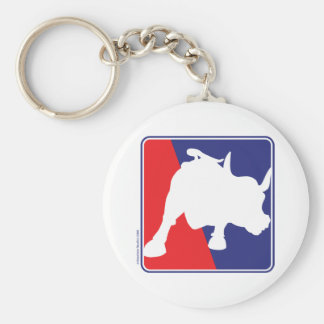 charging-bull keychain