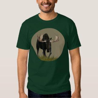 Charging Bull Moose T Shirt