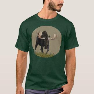 Charging Bull Moose T-Shirt