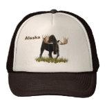 Charging Bull Moose Trucker Hat