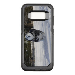 OtterBox Commuter Samsung Galaxy S8 Case with Siberian Husky Phone Cases design