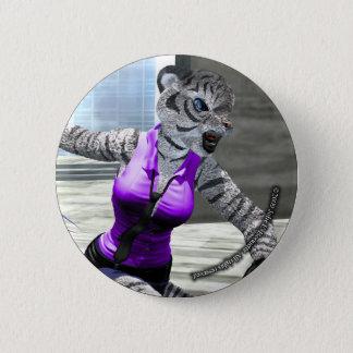 Charging Tigress Button