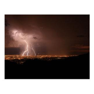 Charging Tucson Postcard
