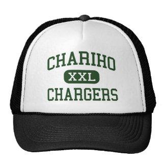 Chariho - cargadores - alto - empalme de madera de gorra