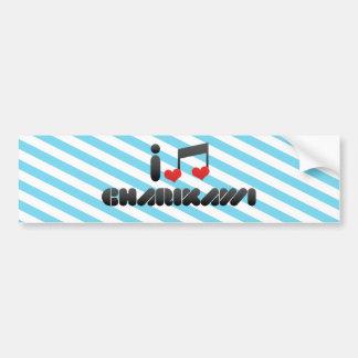 Charikawi Etiqueta De Parachoque
