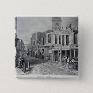 Charing Cross, 1830 Button