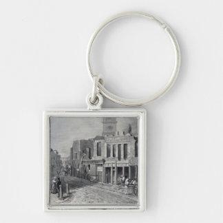 Charing Cross, 1830 Keychain