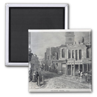 Charing Cross, 1830 Fridge Magnets