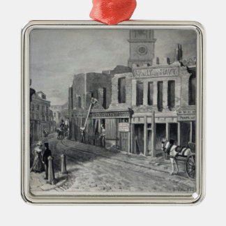 Charing Cross, 1830 Metal Ornament