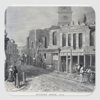 Charing Cross, 1830 Stickers