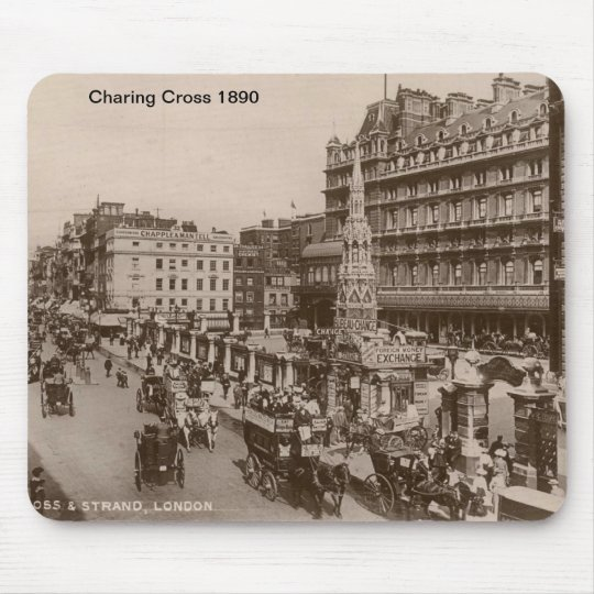 Charing Cross 1890 Mousepad