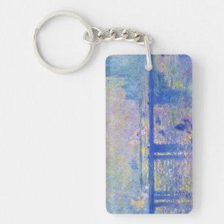 Charing Cross Bridge Claude Monet Acrylic Keychain