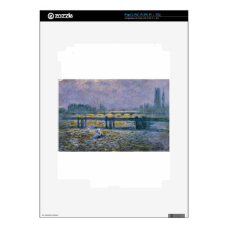 Charing Cross Bridge, Reflections on the Thames iPad 2 Skin