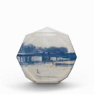 Charing Cross Bridge (study) by Claude Monet Acrylic Award