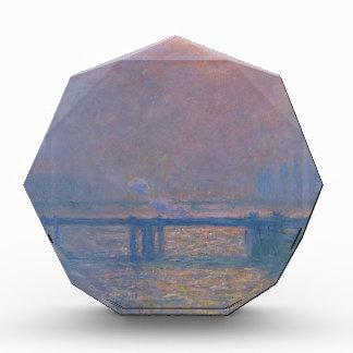 Charing Cross Bridge, The Thames by Claude Monet Acrylic Award