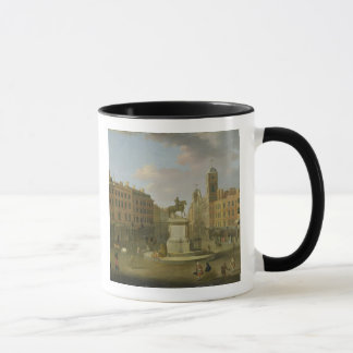 Charing Cross, with the Statue of King Charles I a Mug