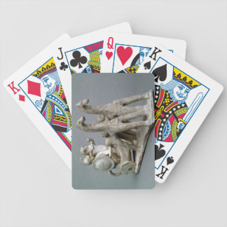 Chariot and horses, from the Tomb of Princess Nefe Bicycle Playing Cards