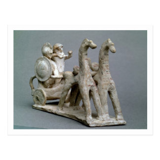 Chariot and horses, from the Tomb of Princess Nefe Postcard