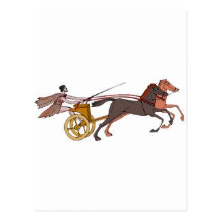 Chariot Champion Postcard