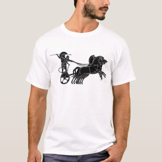 Chariot(Horse carriage), Greek relief design T-Shirt