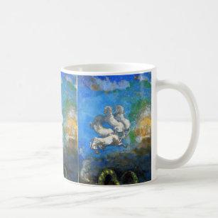 Chariot Of Apollo By Symbolist Odilon Redon Coffee Mug
