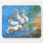 Chariot of Apollo - by Symbolist Odilon Redon Mouse Pad
