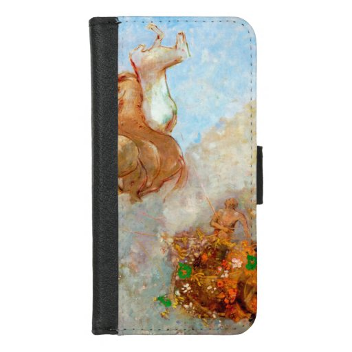 Chariot of Apollo, Redon iPhone 8/7 Wallet Case