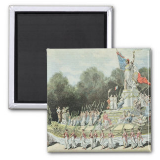Chariot of the Triumph of the Republic Magnet