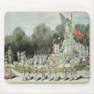 Chariot of the Triumph of the Republic Mouse Pad