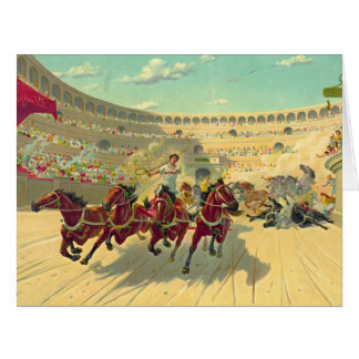 Chariot Race 1840 Card