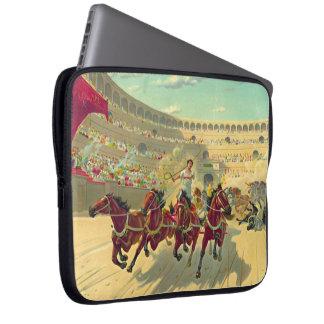 Chariot Race 1840 Computer Sleeve