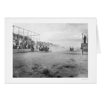 Chariot Race In Alaska 1926 Card