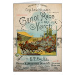 Chariot Race March Card