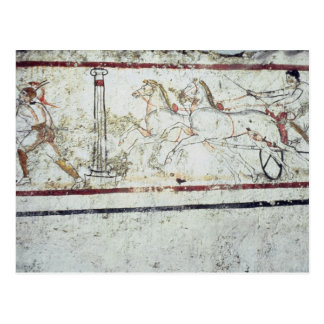 Charioteer and Gladiator, from the Tomb of Postcard