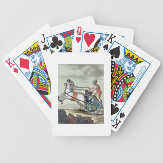 Charioteer, from 'L'Antica Roma', 1825 (colour lit Bicycle Playing Cards