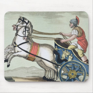 Charioteer, from 'L'Antica Roma', 1825 (colour lit Mousepad