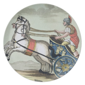 Charioteer, from 'L'Antica Roma', 1825 (colour lit Plate