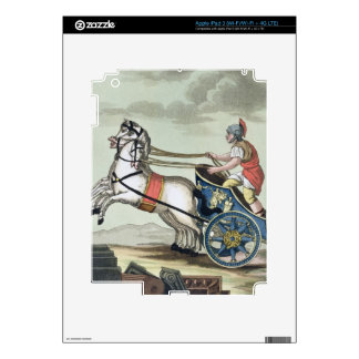 Charioteer, from 'L'Antica Roma', 1825 (colour lit iPad 3 Skin
