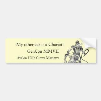 Charioteer , GenCon MMVII, Avalon H... Bumper Sticker