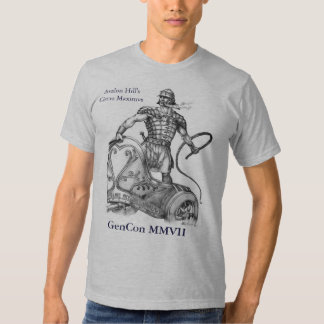 Charioteer MASTER Level, GenCon MMVII, Avalon H... T-shirt